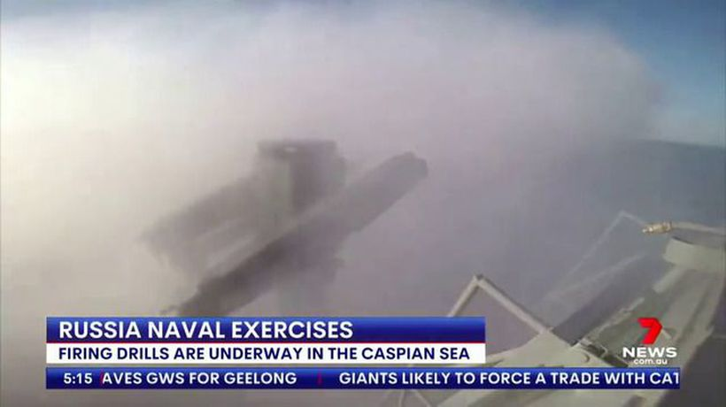 Russian Navy begins military exercises