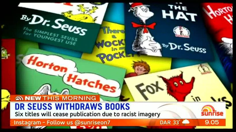 Dr Seuss books banned over racist images