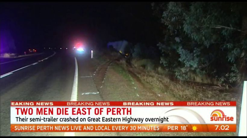 Fatal truck crash at The Lakes closes Great Eastern Highway