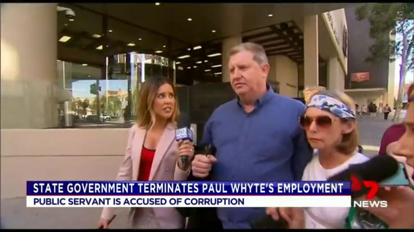 Paul Whyte terminated