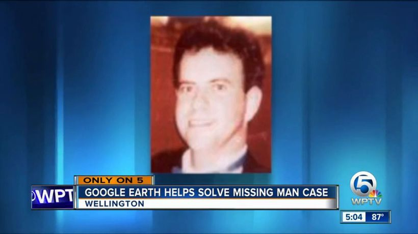 Google Earth search uncovered body of missing man in retention pond
