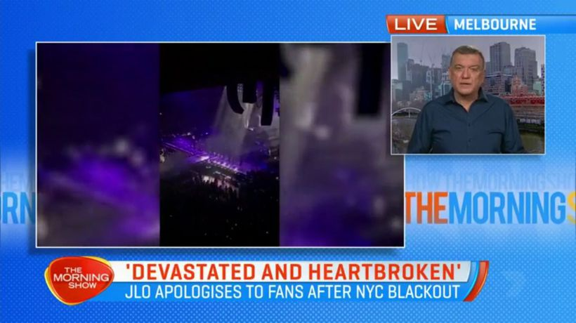 JLO apologies to fans after New York blackout