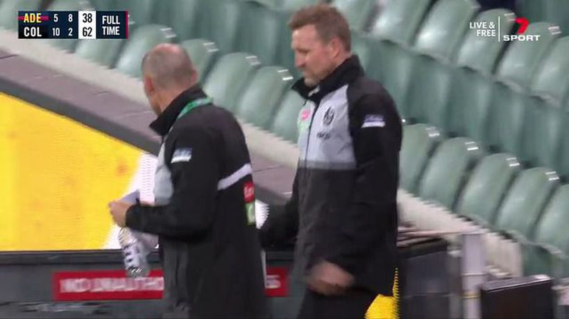 Nathan Buckley caught on camera in potential COVID breach