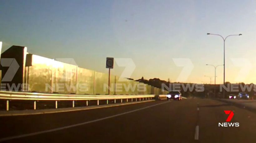 Stolen ute captured driving on wrong side of the road