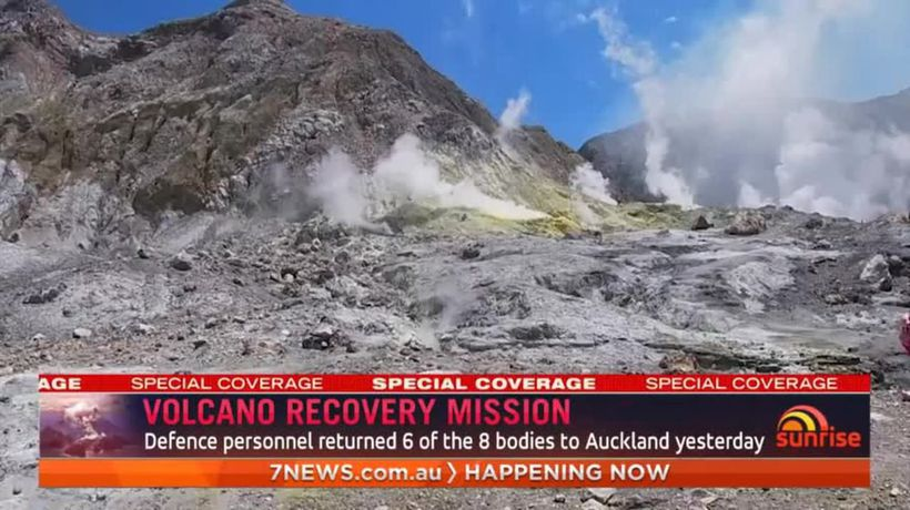 Volcano recovery missiong
