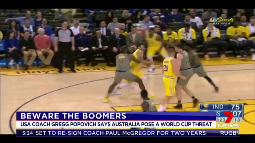 Boomers pose threat in World Cup: US coach
