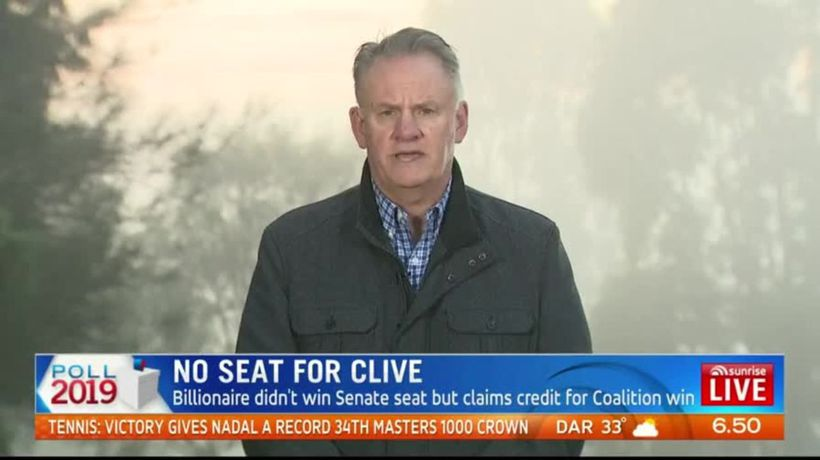 No seat for Clive