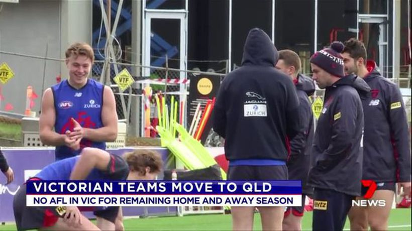 AFL teams to be moved out of Sydney