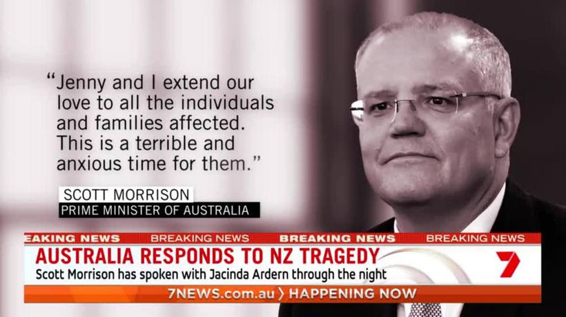 Morrison pledges support to NZ during volcano tragedy