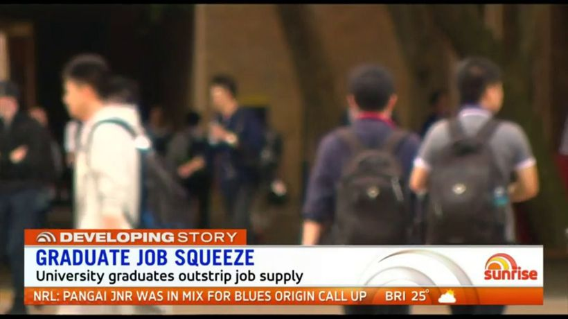 Job squeeze hits creative arts, technology graduates