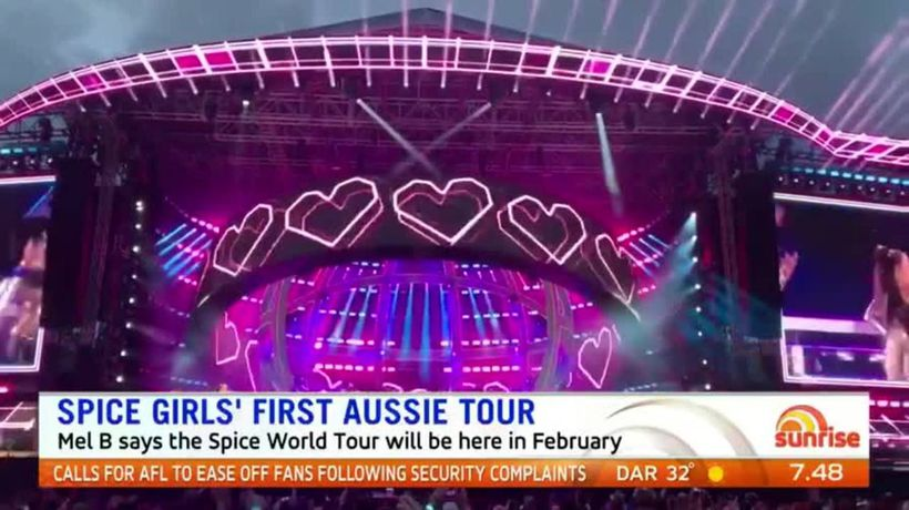Spice Girls heading Down Under in February