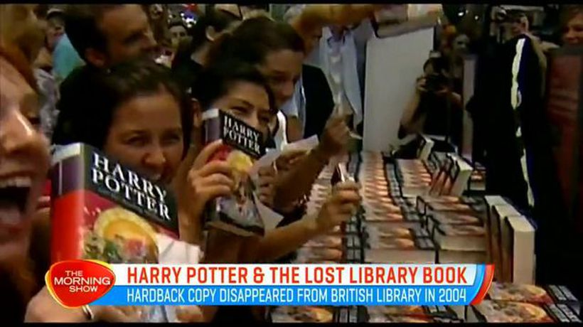 UK library tries to reclaim $77K Harry Potter book
