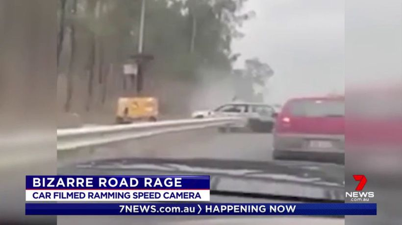 NSW driver's bizarre road rage caught on camera