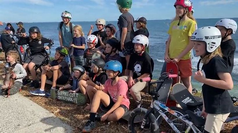 The kids say: Cottesloe needs a skate park
