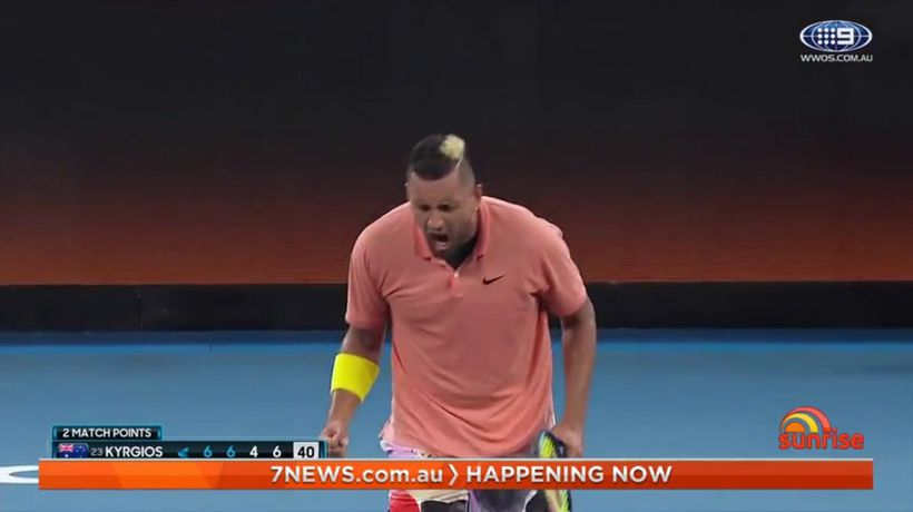 Nick Kyrgios apologises to team