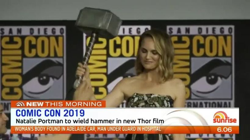 Natalie Portman to wield hammer in new Thor film