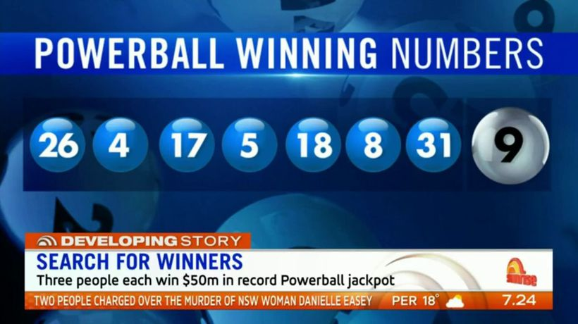 Search for Powerball winners