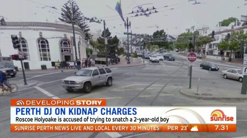Perth DJ on kidnap charges