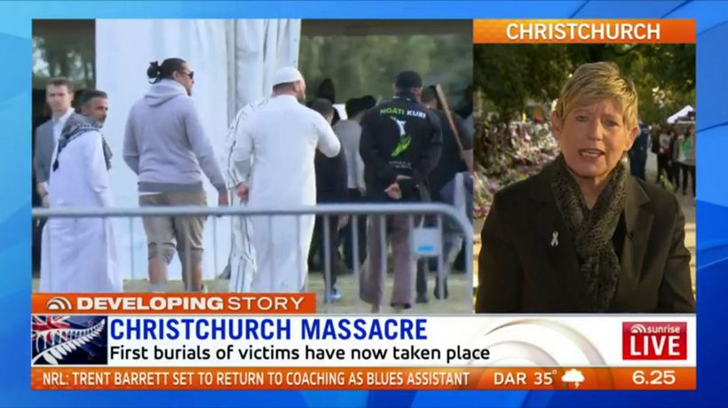 Christchurch mourning massacre victims