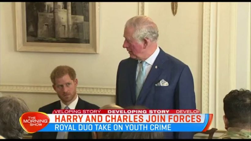 Harry and Charles take on youth crime