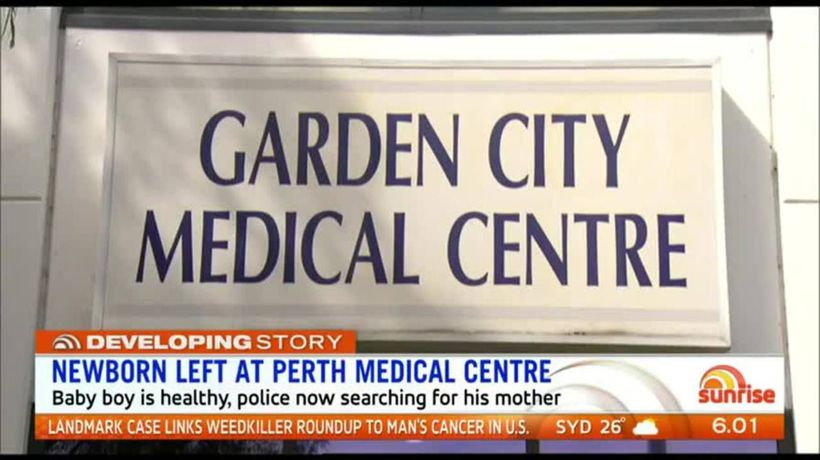 Desperate search for mother of newborn left outside of Perth medical centre