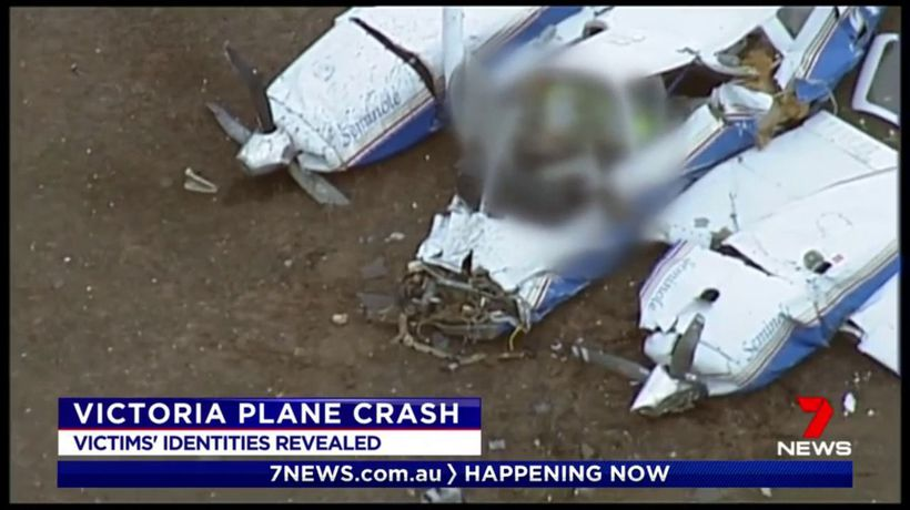 Victorian plane crash victims identified