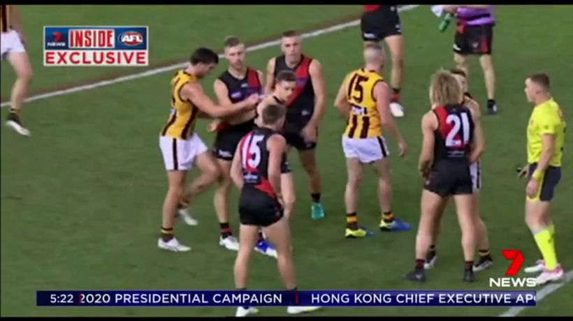 Stratton remorseful after pinching and stomping