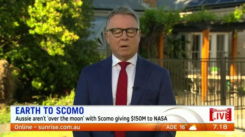 Aussies not 'over the moon' with ScoMo giving $150M to NASA