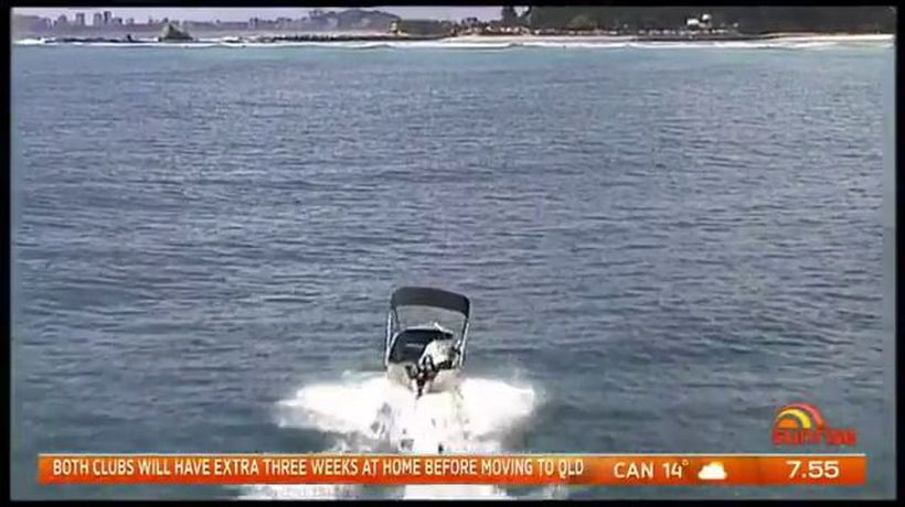 Gold Coast hero saves trapped whale