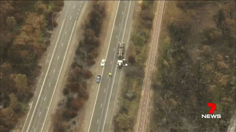 Truck driver charged over horror crash
