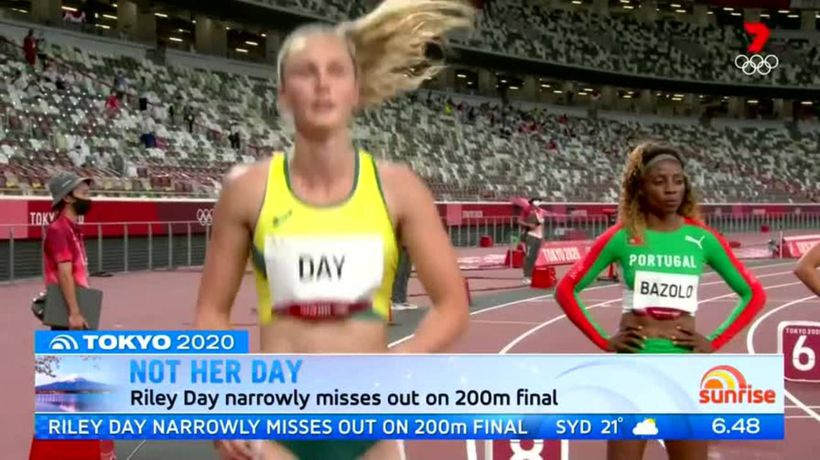 Australia's Riley Day narrowly misses out on 200m final