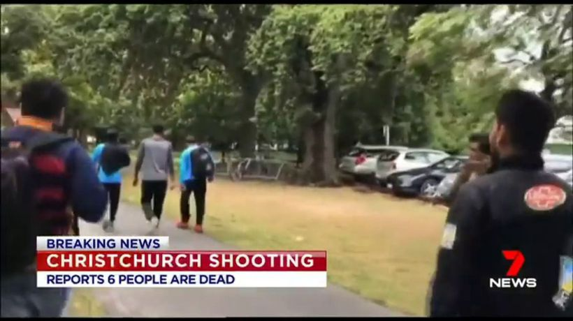 Mass shooting in Christchurch