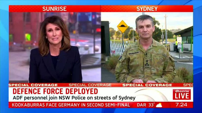 ADF joins Sydney COVID fight