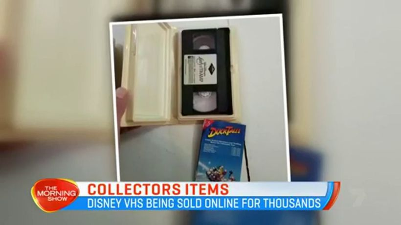 Old Disney VHS tapes could be worth thousands