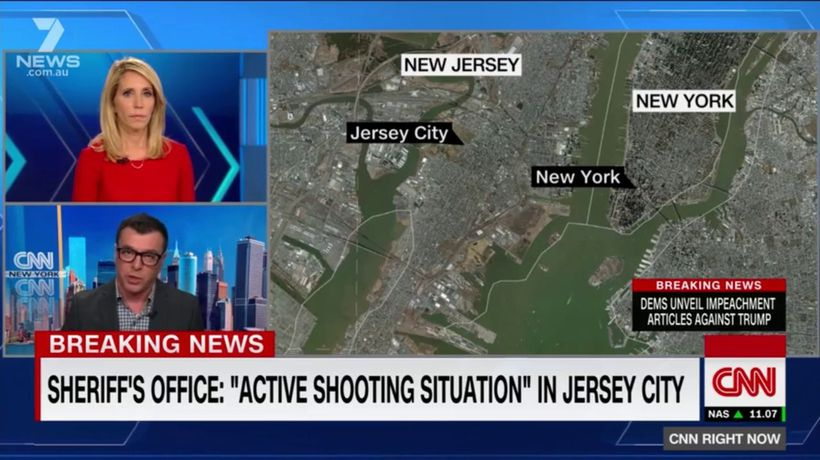 'Active shooting situation' under way in Jersey City