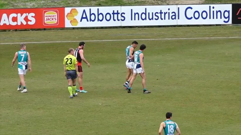 How Bennell injured his calf in the WAFL