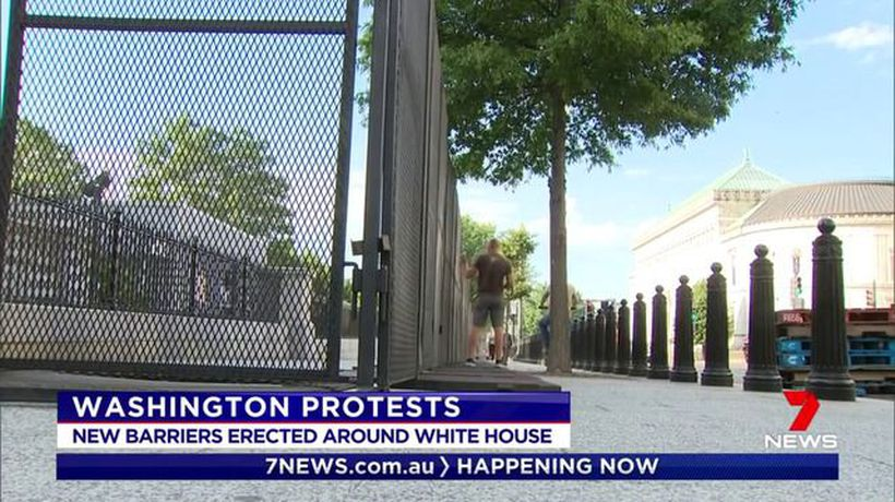 Peaceful protests playing out across the US