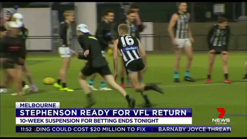 Stephenson ready for VFL return