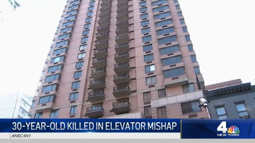 Man killed in freak elevator accident