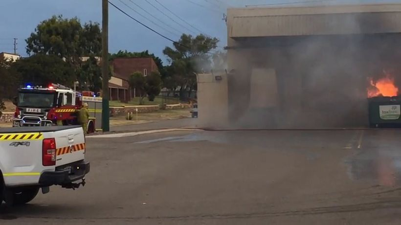 Watch: Northgate Shopping Centre fire | Video | The West