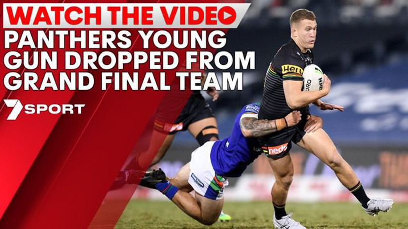 Panthers young gun dropped from Grand Final
