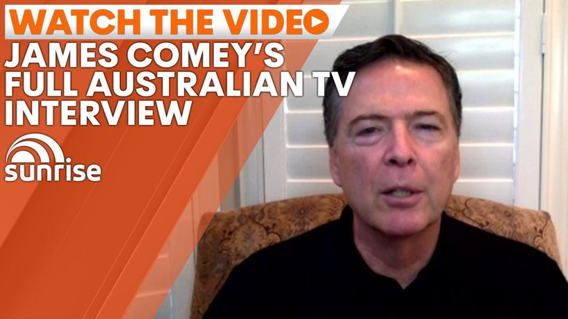 James Comey blasts Trump, praises Biden in Australian TV exclusive interview