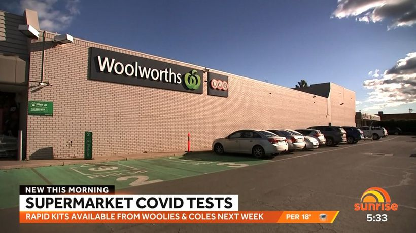 Supermarkets to start selling rapid COVID-19 tests