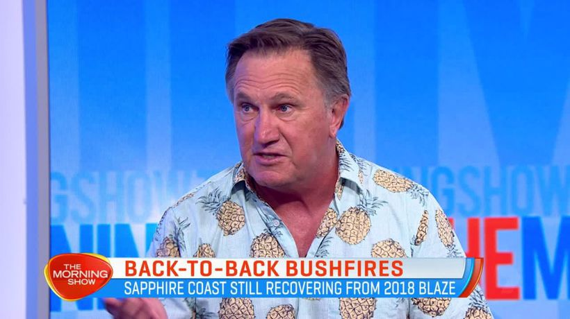 Home and Away star Frankie J Holden on the impact of the bushfires