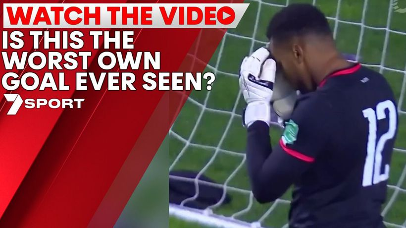 Is this the worst own goal ever seen?