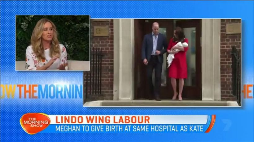 Meghan to give birth at Lindo Wing