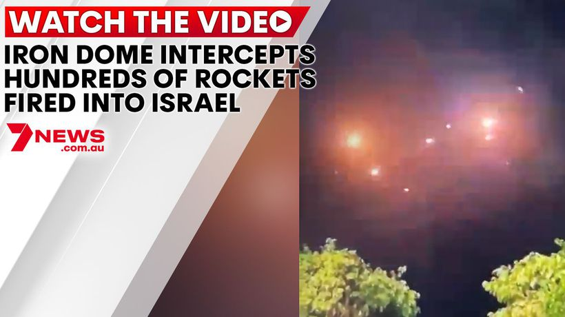 Iron Dome intercepts hundreds of rockets fired into Israel