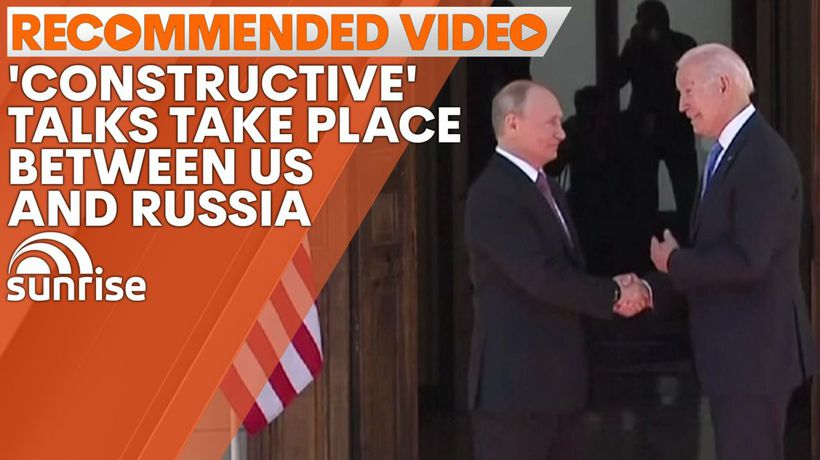 'Constructive' talks take place between US and Russia