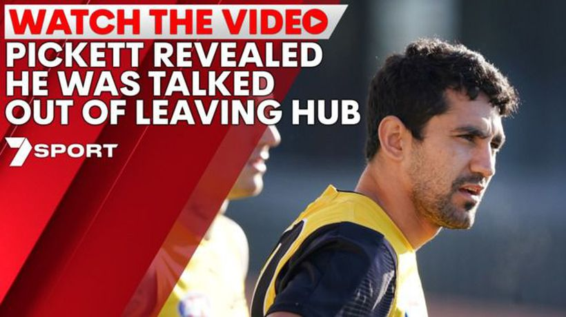 Pickett talked out of leaving hub