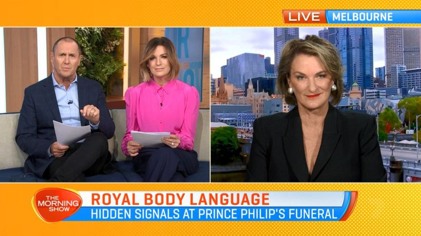 Body language expert dissects royal family at Prince Philip's funeral